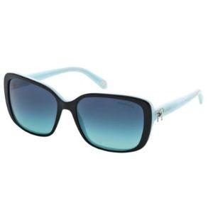 New Tiffany & Co. 4092 Black Sunglasses